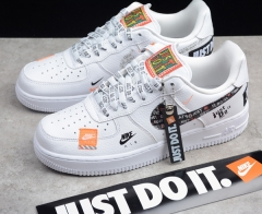 NIKE AIR FORCE 1 JUST DO IT AR7719-100 Low Size EU 36-45