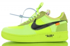 OFF-WHITE x Air Force 1 AF1 OW AO4606-700 Size EU 36-45