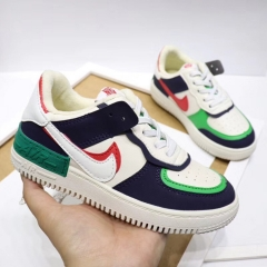 Winter Velvet NIKE AIR FORCE 1 AF1 For Kid's Shoes EU26-35