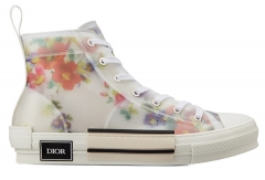 DIOR HOMME Flower Print Casual Shoes EU36-44