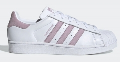 Adidas Superstar board shoes White Pink Stripe EU36-44