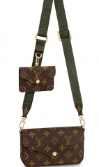 LV Three-in-one bag 2021 FELICIE STRAP M80091