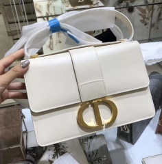 DIOR Montaigne 30 CD Chain Bag Canvas bag